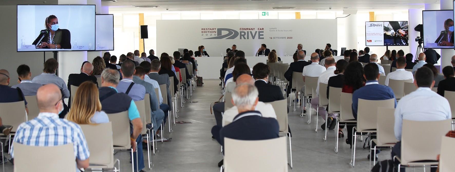 La nuova mobilità aziendale a Company Car Drive 2021